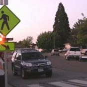 ODOT installs new flashing beacon near site of Angela Burke fatality