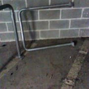 Updated — Thieves unbolt staple rack to take bike in Goose Hollow