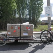 Reader Photo of the Week: 7 miles, 270 pounds of cargo