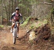 Going off-road on the new Sandy Ridge Trail System