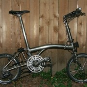 One-of-a-kind folding bike stolen in Sellwood — UPDATED
