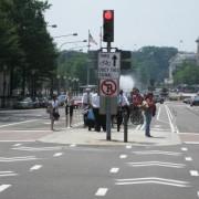 Rep. Blumenauer on the inauguration of Pennsylvania Ave. bike lanes