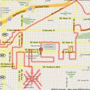 GPS art by bike comes to Portland