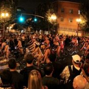 Thousands take part in Portland's Naked Bike Ride