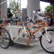 Three person 'bike car' prototype stolen