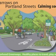 First look at PBOT's new sharrow, 'neighborhood greenway' marketing