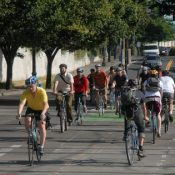 Bridge closure = more bike traffic (slideshow)