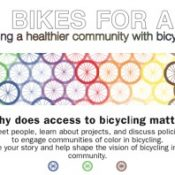 'Bikes for All' event will focus on equal access to bicycling
