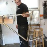 Local builder working on bike for Blazers' Przybilla