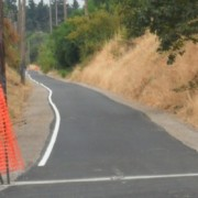 Springwater Trail repaving update (it's almost done!)