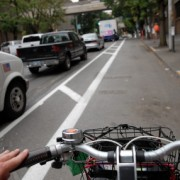 One year later: A look at the Broadway cycle track