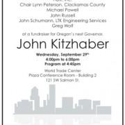 Kitzhaber to talk transportation at fundraiser in Portland tonight