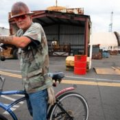 Slideshow: How they roll in the shipyard on Swan Island