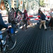 Cyclocross on the Hawthorne Bridge – Updated