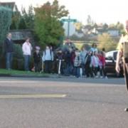 Despite sketchy crossing, kids still walk to school in Bethany