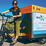 "Pedal-powered B-Line helps downtown dry cleaner be more ""Eco"""