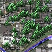 Biking to Obama? Check the Lloyd District Bike Parking Map