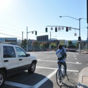 City flips switch on bike signals at Broadway/Williams (Video)  – UPDATED