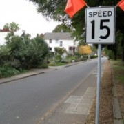 A speed limit sign success story