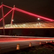 Eugene celebrates new (carfree) bridge over Delta Highway
