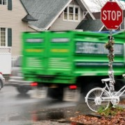 Ghost bike, recovered by TriMet operator, now returned