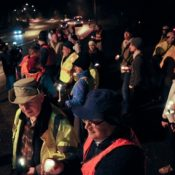 Vigil brings light to tragic stretch of Barbur Blvd