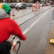 Citizen activists request fixes to make streetcar tracks safer for cycling