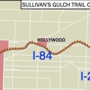 City moves forward with planning for Sullivan's Gulch Trail