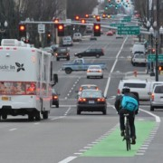 Photo essay: Riding the new Burnside bikeway