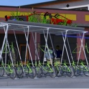 Weigh in on proposed bike shelter/art project in Woodlawn