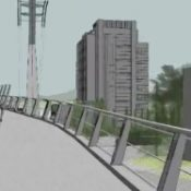 Groundbreaking event next week for Gibbs Street Pedestrian (and bike) Bridge