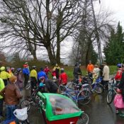 Kidical Mass recap: Politics, hot cocoa and kids on bikes