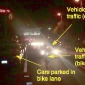 Cars parking in bike lanes: How can we fix this problem?