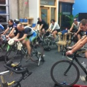 Riders head indoors to get their winter training fix