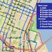 """TriMet adds student's """"Bike to Transit Map"""" to App Center"""