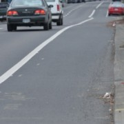 Cars parking in bicycle travel lanes: What did we learn?