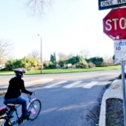 Two separate bills would reduce stop sign violation fine for bicycles