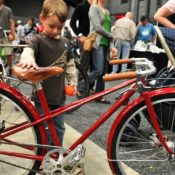 A bike for kids, from Sacha White of Vanilla Bicycles