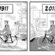 Friday Cartoon: 100 years of Portland bike fashion