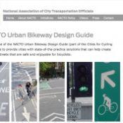 City transportation officials unveil Urban Bikeway Design Guide