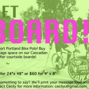 Support Portland bike polo during Cascadian Qualifiers tourney