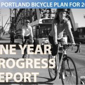 PBOT releases one year progress report on Bike Plan