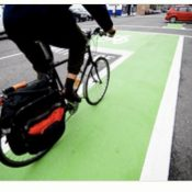 Green bikeways get interim federal approval