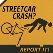 Activist group to track bike/streetcar track crashes