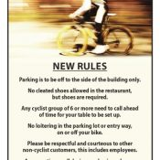 """Owner of Hillsboro coffeehouse says """"cyclists"""" have worn out welcome – UPDATED"""