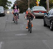Biking and the school bond measure