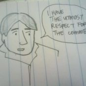 How I feel about comments (in comic form)