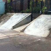 Bike shop's new ramp helps thwart assault