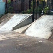 Bike shop's new ramp helps thwart assault