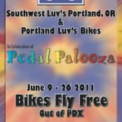 Southwest Airlines waives bike fees at PDX during Pedalpalooza